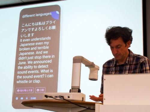 写真1●グーグルがAndroidのアクセシビリティ機能を紹介