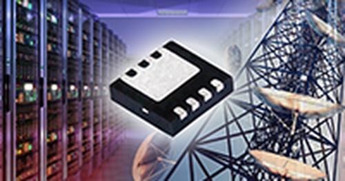 オン抵抗が4mΩと小さい60V耐圧パワーMOSFET。Vishay Intertechnology社のイメージ