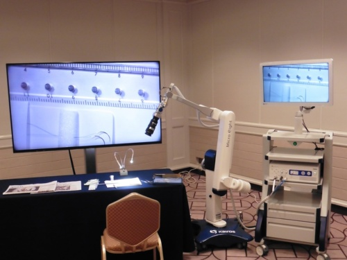 8K手術用ビデオ顕微鏡システム「Micro eight」