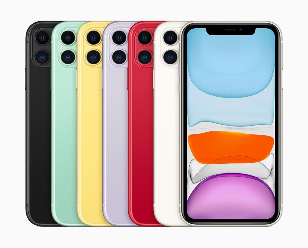 iPhone 11 (出所:アップル)