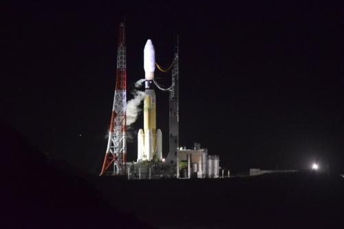 打ち上げ直前のH-IIB 8号機(出所:三菱重工業)