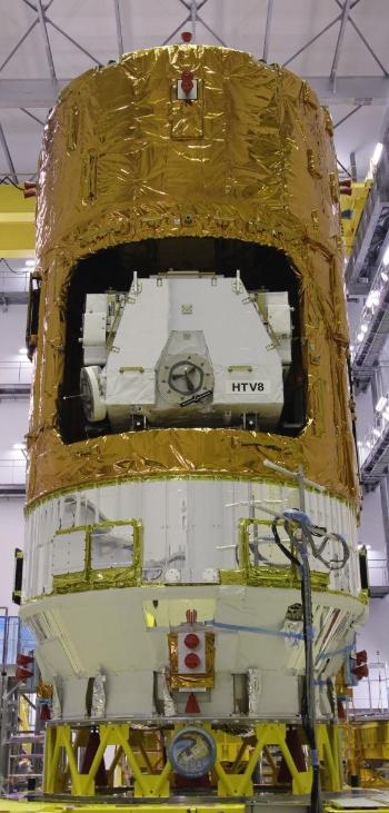 こうのとり8号機(出所:宇宙航空研究開発機構)