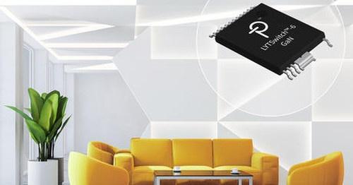 GaNトランジスタを採用した絶縁型LEDドライバーIC 。Power Integrationsのイメージ