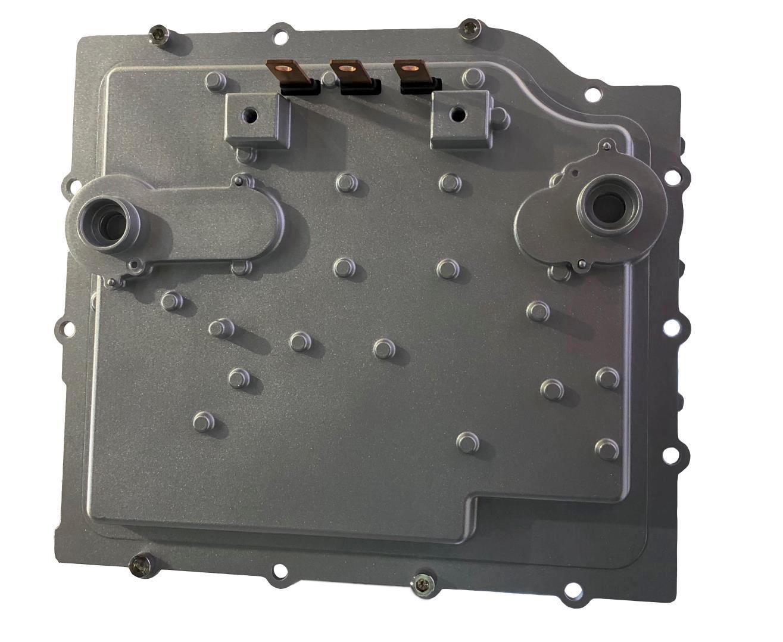 800V SiC(炭化ケイ素)インバーター (写真:Delphi Technologies)