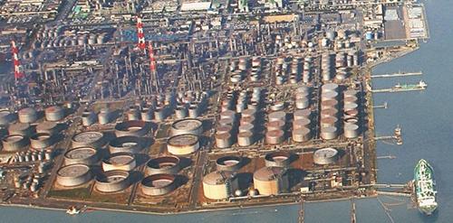 図1:JXTGエネルギー水島製油所