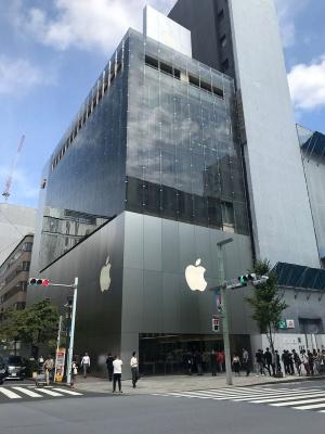 発売日のApple 銀座