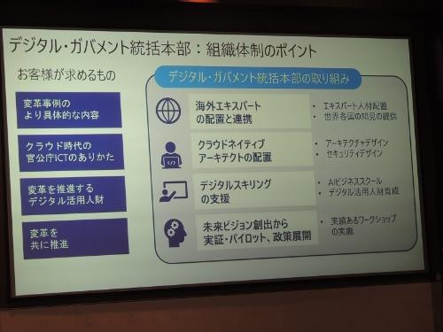 日本マイクロソフトは海外政府や自治体のデジタル化推進経験者を多く採用している