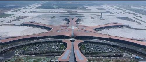 北京大興国際空港の様子