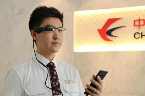 中国東方航空の5G+ARサービス