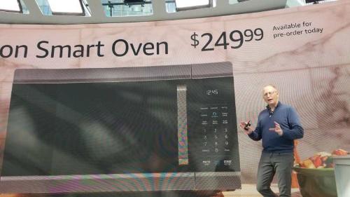 Alexa対応のオーブンレンジ「Amazon Smart Oven」