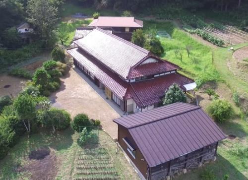 図1:「Smart Village Project」の拠点となる築60年の家屋(出所:スマートインプリメント)