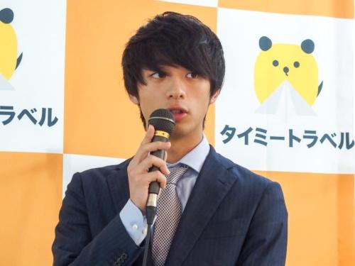写真2●タイミー代表取締役の小川嶺氏