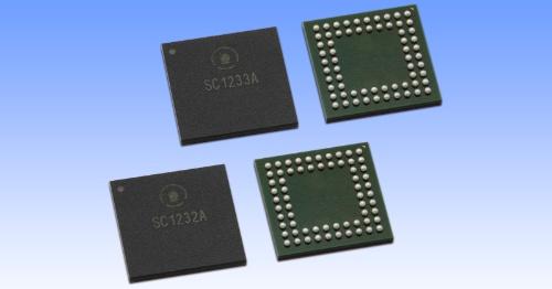 24GHz帯の電波を使うIoT機器向けレーダーセンサーIC。ソシオネクストの写真
