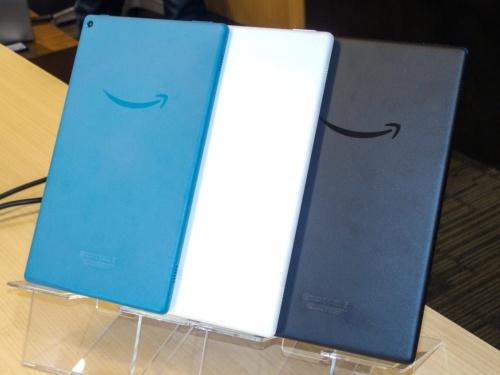 写真8●「Fire HD 10タブレット」の新モデル