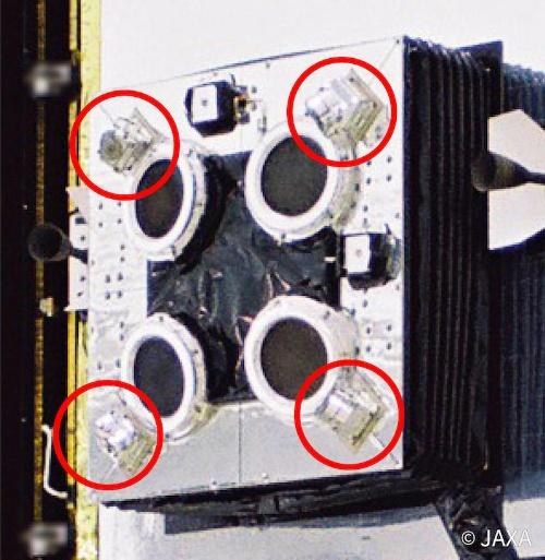 図2:「はやぶさ2」で使われているイオンエンジン中和器(出所:JAXA)