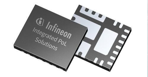 最大出力電流が23Aと大きい降圧型DC-DCコンバーターIC。Infineon Technologiesの写真