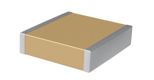 ワイド・ギャップ・パワー半導体を使う電源回路に向けた積層セラミックコンデンサー。KEMETの写真