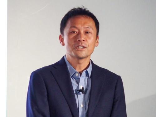 写真2●グーグル Googleハードウェア事業 パートナーシップ ビジネス統括の織井賢氏