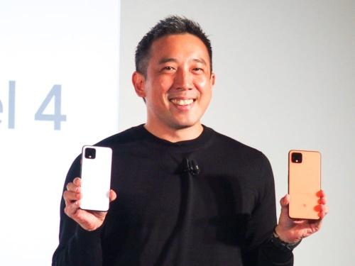 写真3●グーグル Google Pixel製品事業統括の埜々内ルイ氏