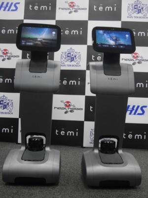 テレプレゼンスロボット「temi」