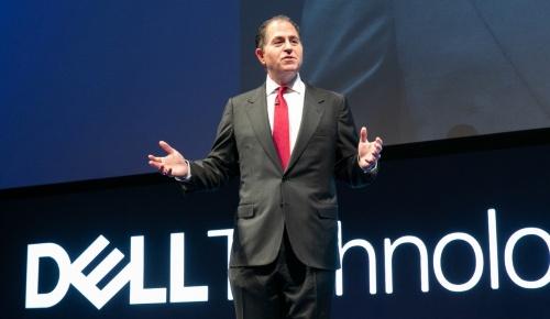 基調講演に登壇したマイケル・デル会長兼最高経営責任者(CEO)