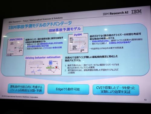日本IBMが開発した「IBM事故予測モデル」の概要