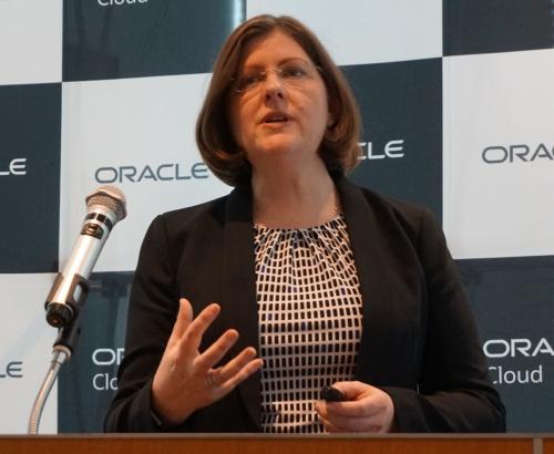 米オラクルのマリア・コルガンデータベース・サーバー技術担当マスター・プロダクト・マネージャー
