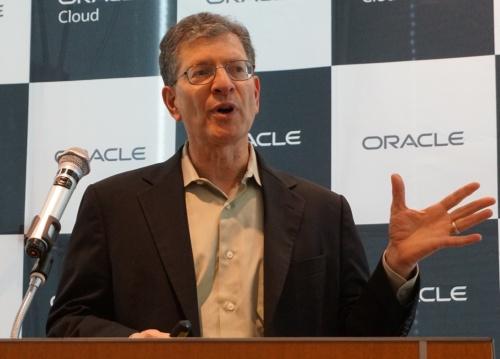 米オラクルのアンドリュー・メンデルソンデータベース・サーバー技術担当エグゼクティブ・バイスプレジデント