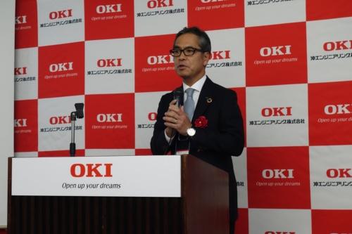OEG代表取締役社長執行役員の橋本雅明氏