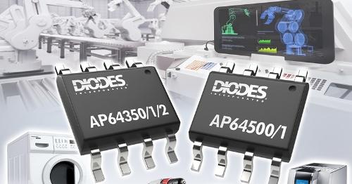 最大40V入力が可能な2.2MHz動作の降圧型DC-DCコンバーターIC。Diodesのイメージ