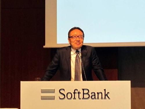 ソフトバンクの宮内謙社長兼CEO(最高経営責任者)