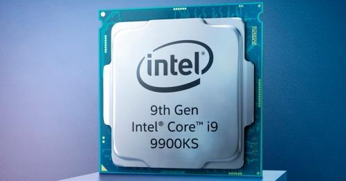 今回の新製品。Intelの写真