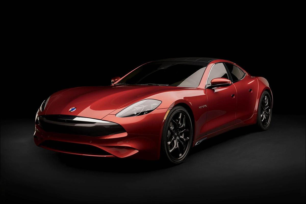 高性能スポーツカーの「Revero GT」 (写真:Karma Automotive)