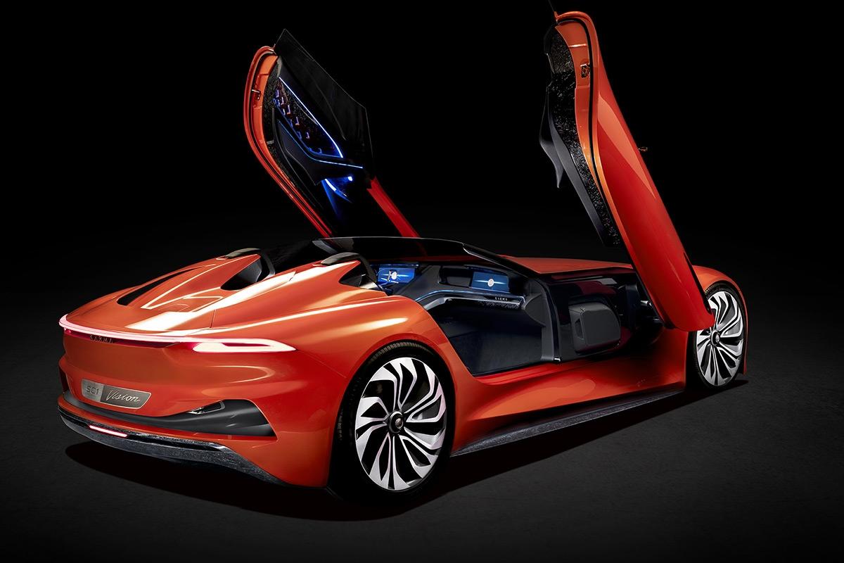 上海モーターショーに出品した「Karma SC1 Vision Concept」 (写真:Karma Automotive)