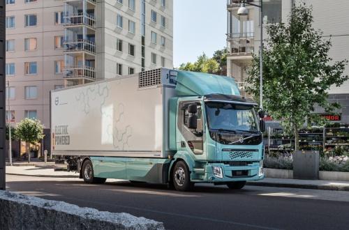 大型EVトラックの「Volvo FL Electric」(写真:Volvo Trucks)
