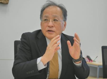三菱ケミカルホールディングスのCDO(最高デジタル責任者)を務める岩野和生執行役員