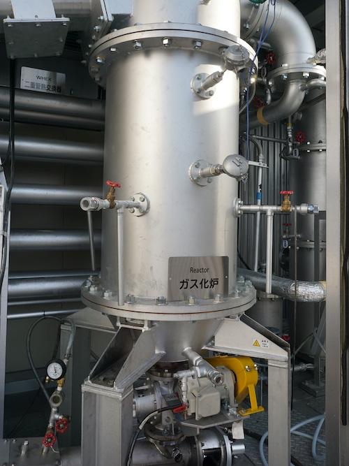 図2:ガス化炉 (出所:ヤンマー)