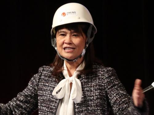 トレンドマイクロのエバ・チェン社長兼CEO(最高経営責任者)