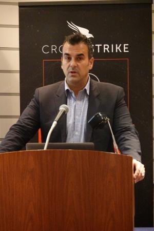 米クラウドストライクのマイケル・セントナス テクノロジー・ストラテジー担当バイスプレジデント