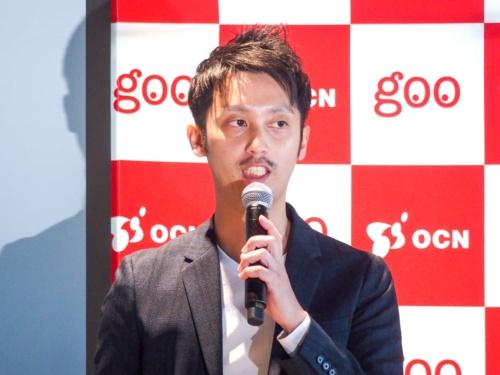 写真3●OCNモバイルONE サービスプロデューサーの木藤暢俊氏