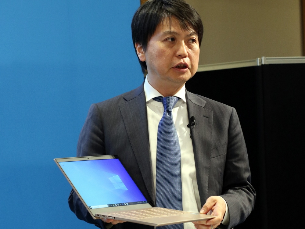 NECパーソナルコンピュータの川島良輔執行役員