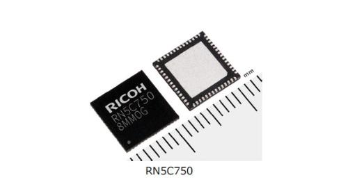 HUDやピコプロジェクターに向けた半導体レーザー駆動IC。リコー電子デバイスの写真
