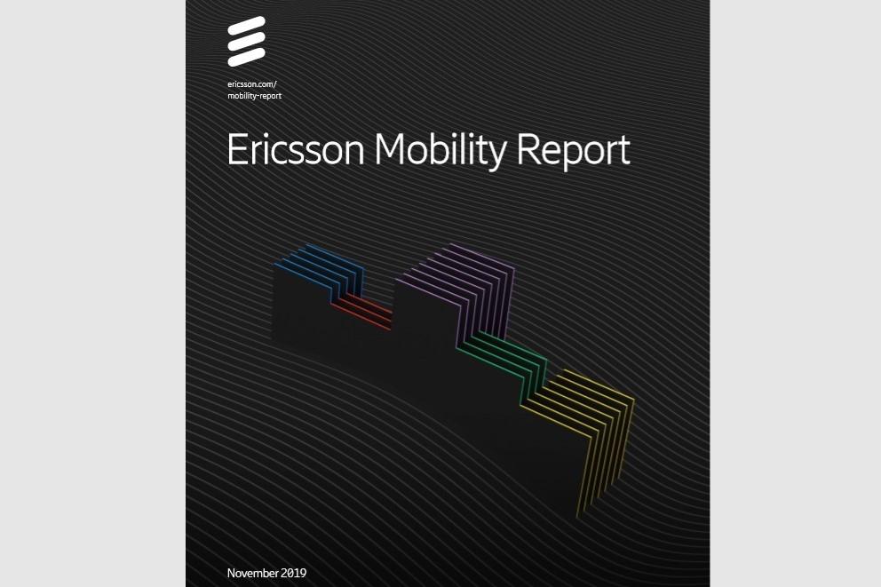 「Ericsson Mobility Report November 2019」 出所:Ericsson