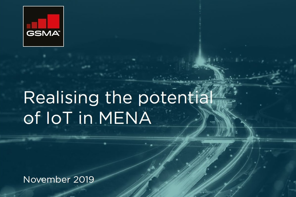 「Realising the potential of IoT in MENA」 出所:GSMA