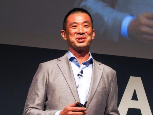 写真1●アマゾンジャパン Amazonビジネス事業本部事業本部長の石橋憲人氏