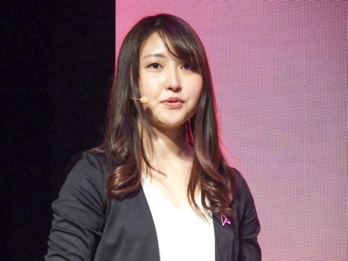 写真4●ASUS JAPAN システムマーケティング部コンシューマーPCプロダクトマーケティングの熊谷歩美氏