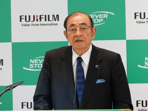 富士フイルムホールディングスの古森重隆会長・CEO