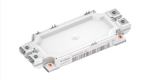 最大コレクター電流が900Aの1200V耐圧IGBTモジュール。Infineon Technologiesの写真