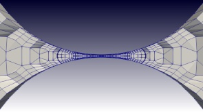 図3 細い構造物にメッシュを施す