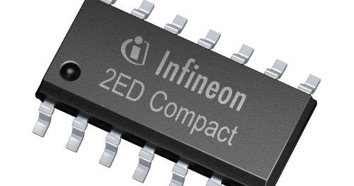 SOI技術で製造した650V対応のゲートドライバーIC。Infineon Technologiesの写真